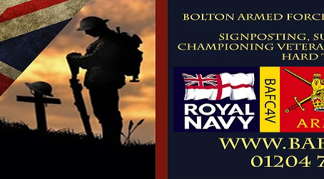 Urgent Appeal - Bolton Armed Forces Centre Needs Your Support