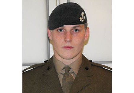 Rifleman Daniel Holkham, 3rd Battalion, The Rifles