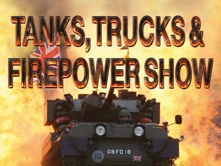Tanks, Trucks & Firepower August Bank Holiday 2017 Show- Dunchurch, Rugby.