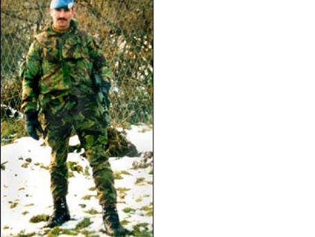 Corporal Barney Warburton, Royal Engineers
