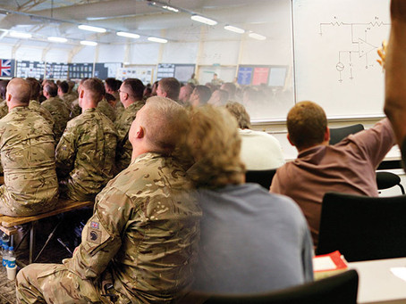 New research shows armed forces charities helping tens of thousands access education and employment