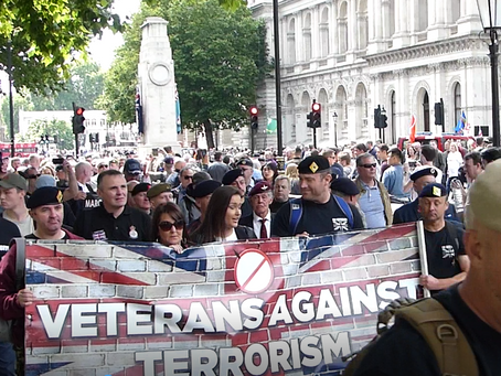 Veterans Against Terrorism to hold Edinburgh March 25th November 2017