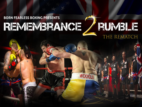 SAS veterans take on US Seals in the 2nd 'Remembrance Rumble' charity boxing match