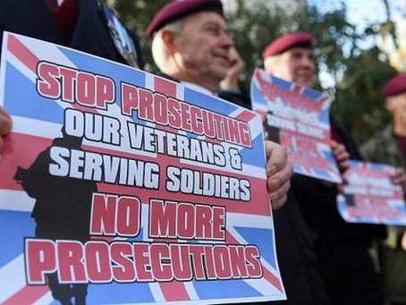 'UK Veterans One Voice' set to march in London to protest against unfair treatment of NI Vet