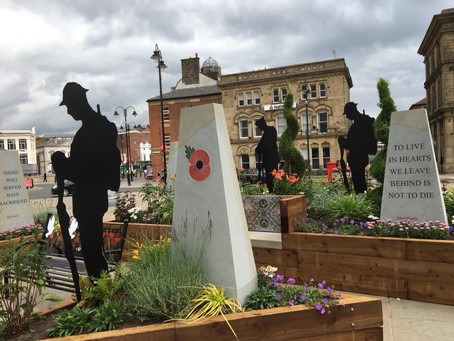 Pop-up garden to honour WW1 fallen in Rochdale