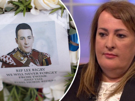 A Heart-Warming New Years Message From Lyn Rigby & The Lee Rigby Foundation