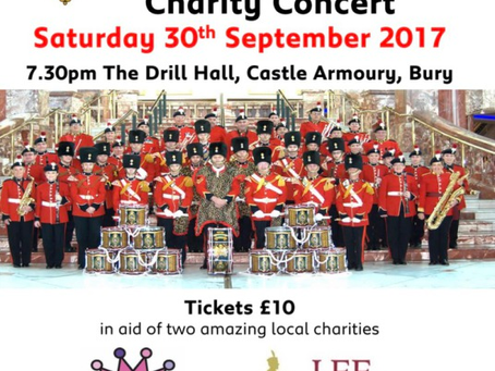Fusiliers Charity Concert For The Lee Rigby Foundation & Annabelle's Challenge. Sat 30th Sep