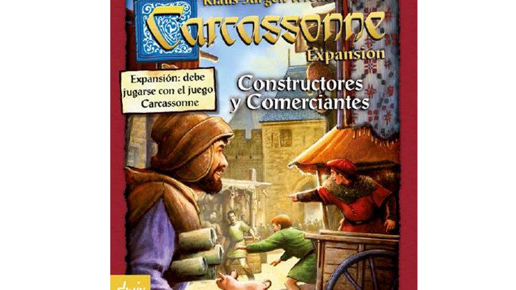 Carcassonne - Expansão Comerciantes e Construtores