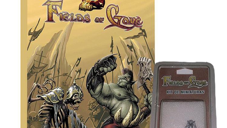 Fields of Gore - Livro de Regras e miniatura Gromoz