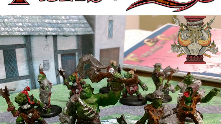 Fields of Gore - Kit miniaturas Tropa dos Orcos