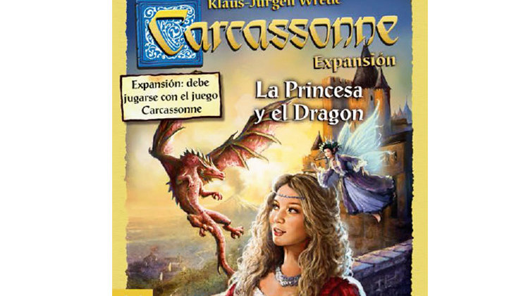 Carcassonne - Expansão A Princesa e o Dragão