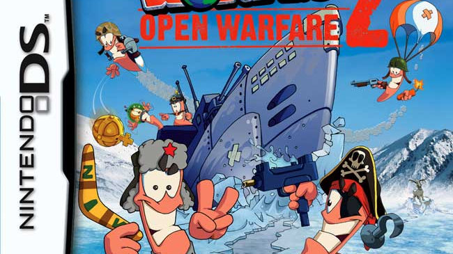 Worms 2 - Open Warfare (Nintendo DS)