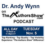 Andy Wynn Authors Show Podcast 5 Nov log
