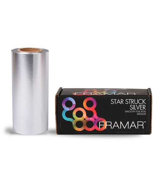 Star Struck Silver Small Smooth Roll (R-SML-MSIL)
