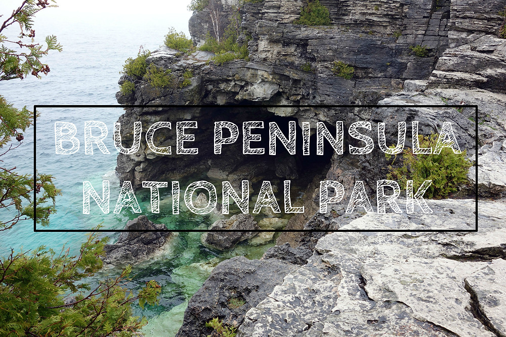Bruce Peninsula National Park Grotto