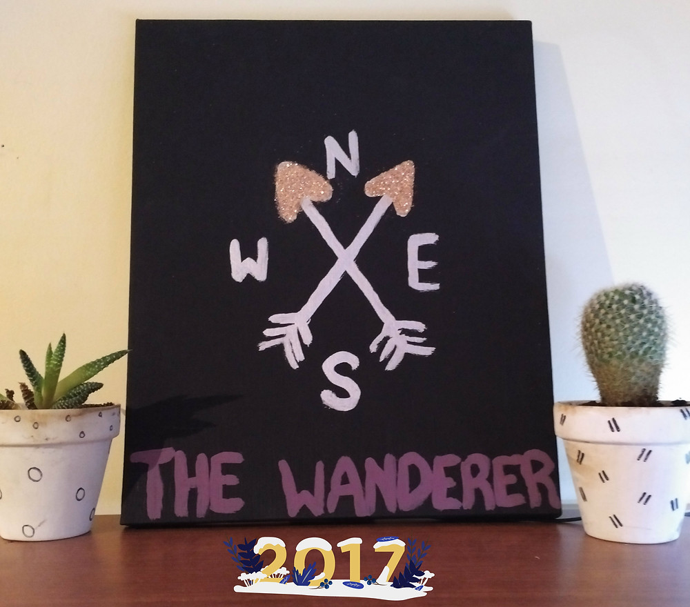 The Wanderer Painting