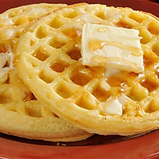 The Traditional  Waffles( 2 pzas )