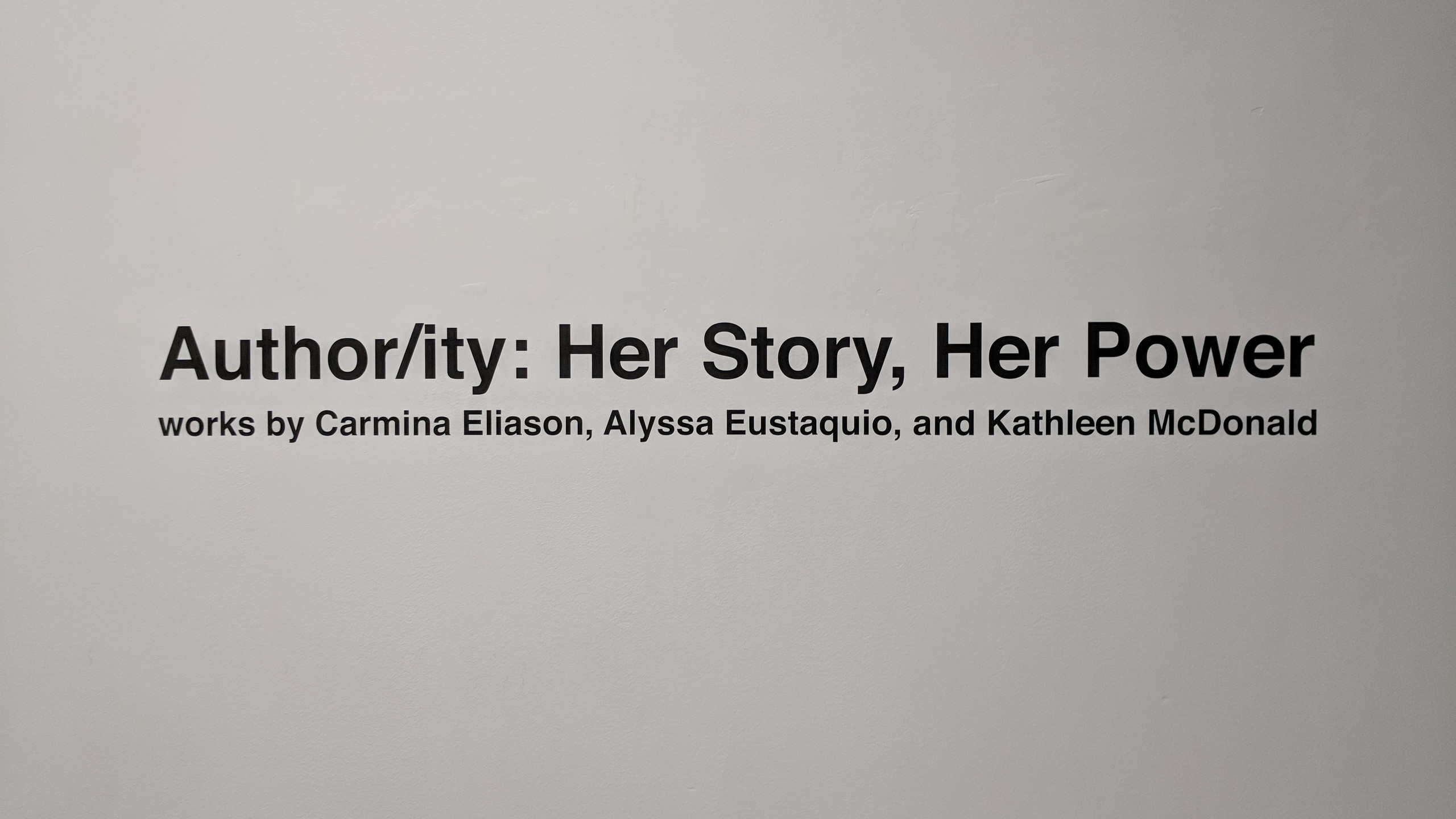 Author/ity: Her Story, Her Power