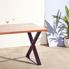 X Dining table legs