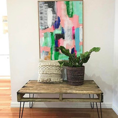 Want to make your own table but don't know where to begin_ Follow _katrinas_instagram step by step blog using our legs & make your own cool_