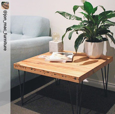 3 Rod Coffee Table Hairpin Legs