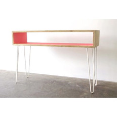 Fun colourful console we made for _milknsoda a while back, hall table height legs are available on our online store.jpg