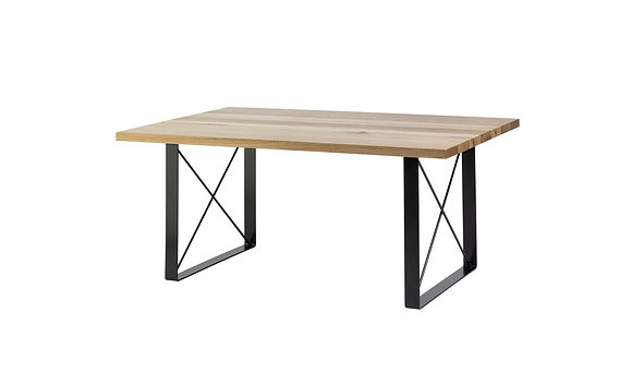 table legs. x-frame table legs