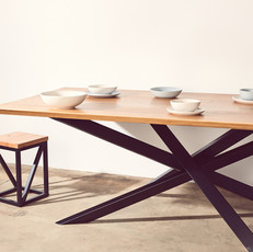Bespoke table with crazy legs