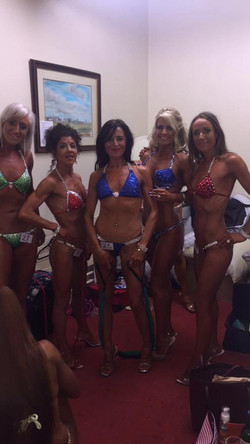 Diana Kelleher Bikini Fitness Posing