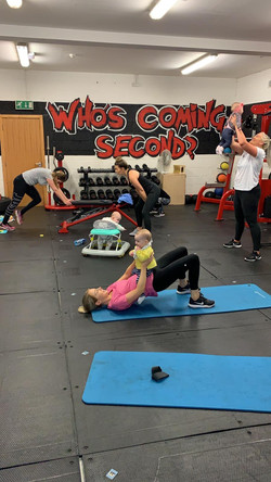Mother and baby fitness cork