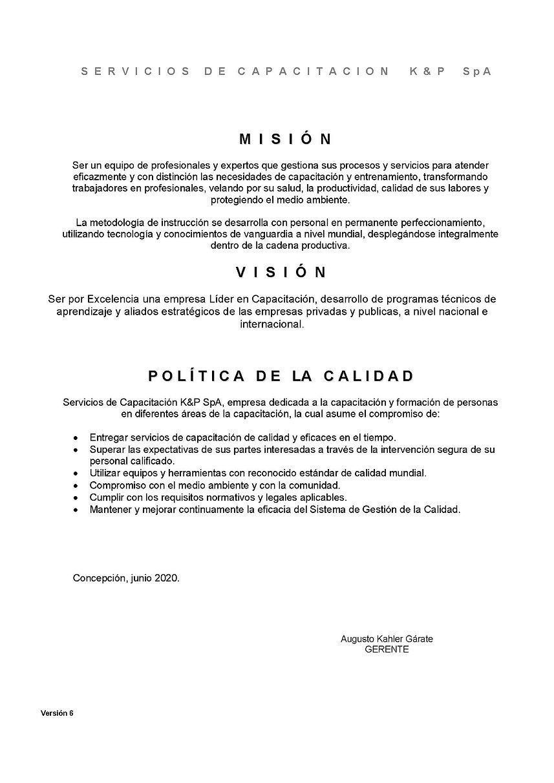 Política_de_calidad_K&P_SpA_JUNIO_2020_