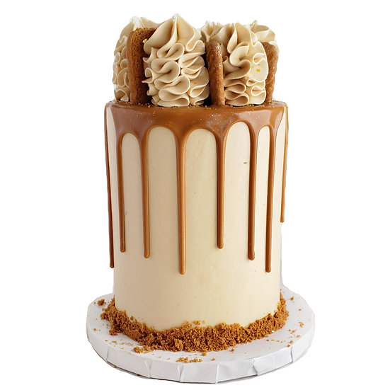 Cookie Butter Biscoff Cake