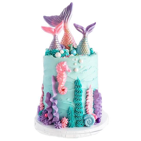 Mermaid Magic Cake