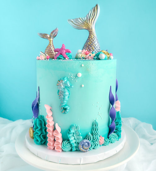 Mermaid Magic Cake