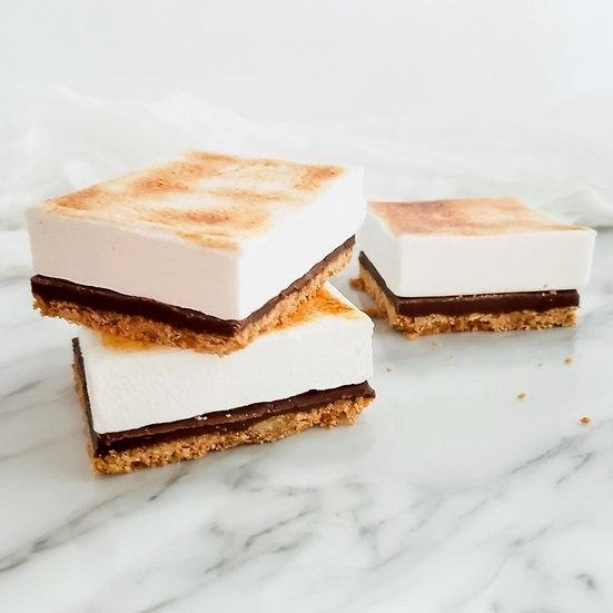 Marshmallow S'more Bars