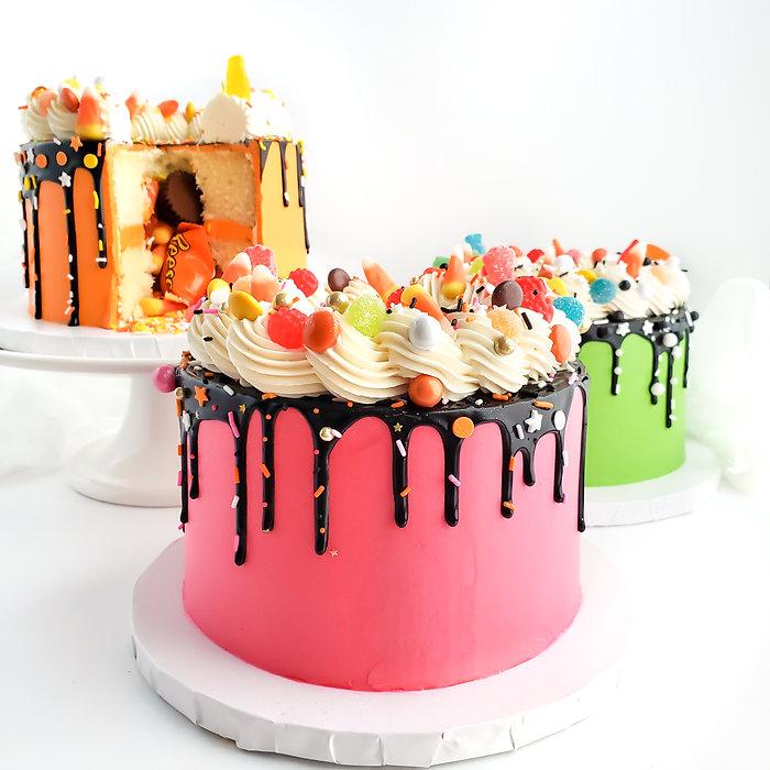 Jac & Jill's Bakes - Halloween Cakes 202