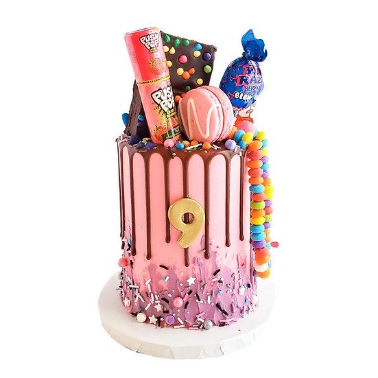 Retro Candy Cake
