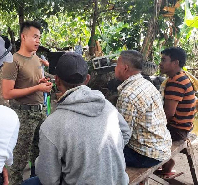 'Balik-loob' BIFF commanders  sought help from the Philippine Army to facilitate continued government support close to 12 months after surrendering their firearms  to the government. (Photo: PH Army)