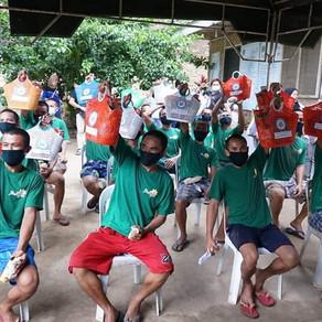 Sangguniang Kabataan, namigay ng pamaskong handog sa Balay Silangan