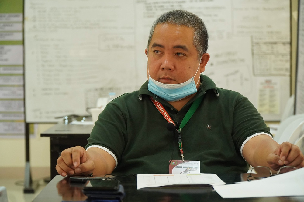 Lyndon Calica, Incident Commander of Lanao del Norte's local inter-agency task force on COVID-19 response, expects a worst case scenario should the Executive Orders on enhanced community quarantine are lifted. (Photo: James Umaran/HRS Media)