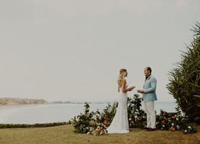 An elopement in the Island of Gods, Bali