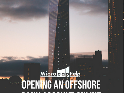 Opening an Offshore Bank Account Online
