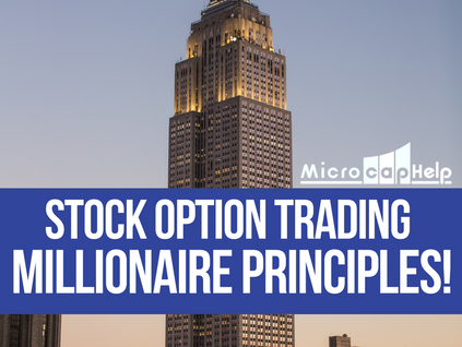 Stock Option Trading Millionaire Principles