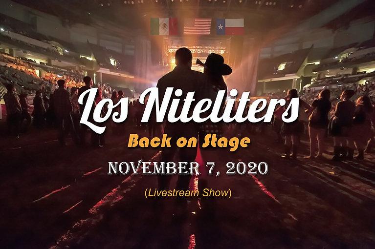 Niteliters Announcement (11-7-20) - Live