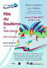 Bulletin inscription Vide Grenier 2017 Saint HIlaire Nautisme