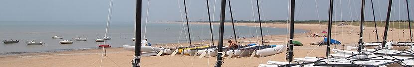 Plage de Sion l'Océan à Saint Hilaire de Riez en Vendée