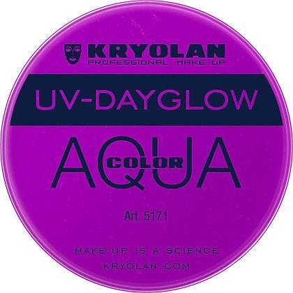 AQUACOLOR UV DAYGLOW PURPLE