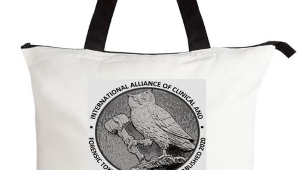 Premium IACFT Tote Bag - White/Black