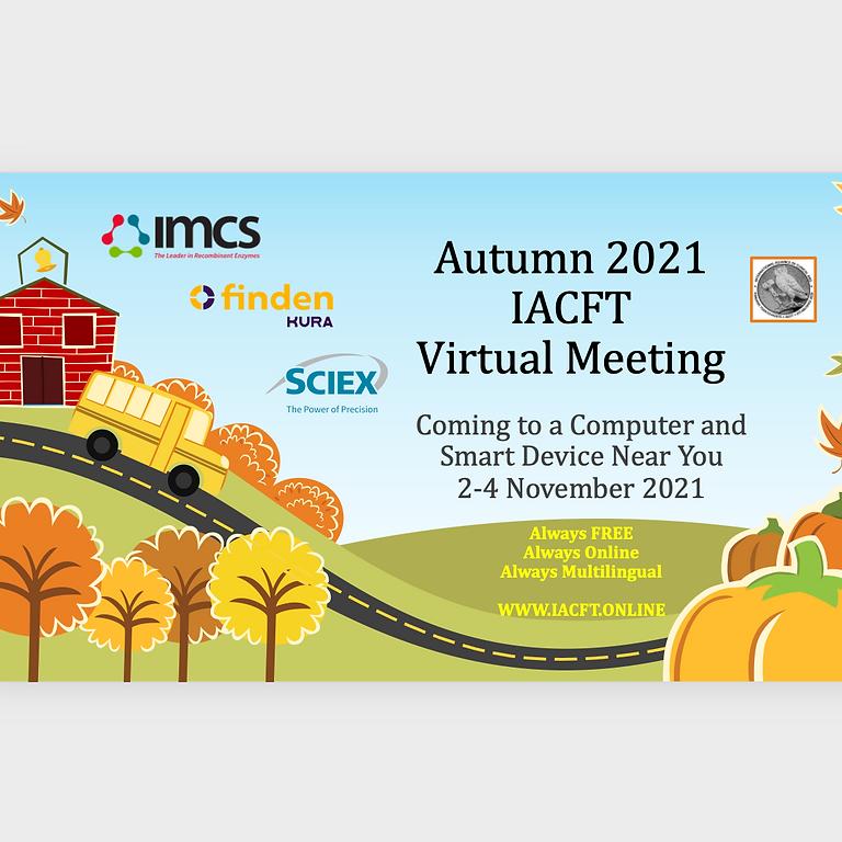 Autumn 2021 Virtual Meeting