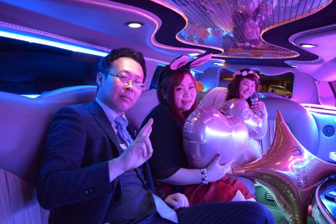 リムジンメモリアルblog『高級リムジンで天保山!』